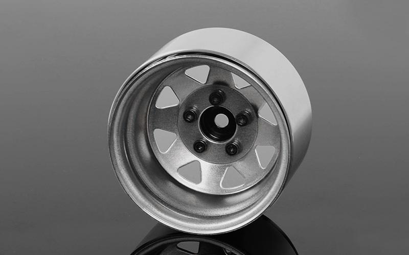 5 Lug Deep Dish Wagon 1.9 Steel Stamped Beadlock Felgen (4)