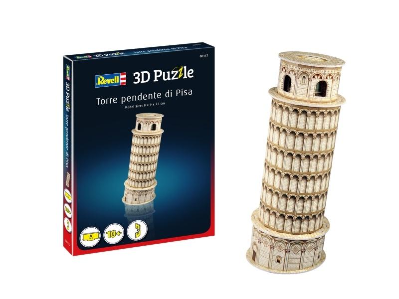 3D Puzzle Der schiefe Turm von Pisa 8 Teile