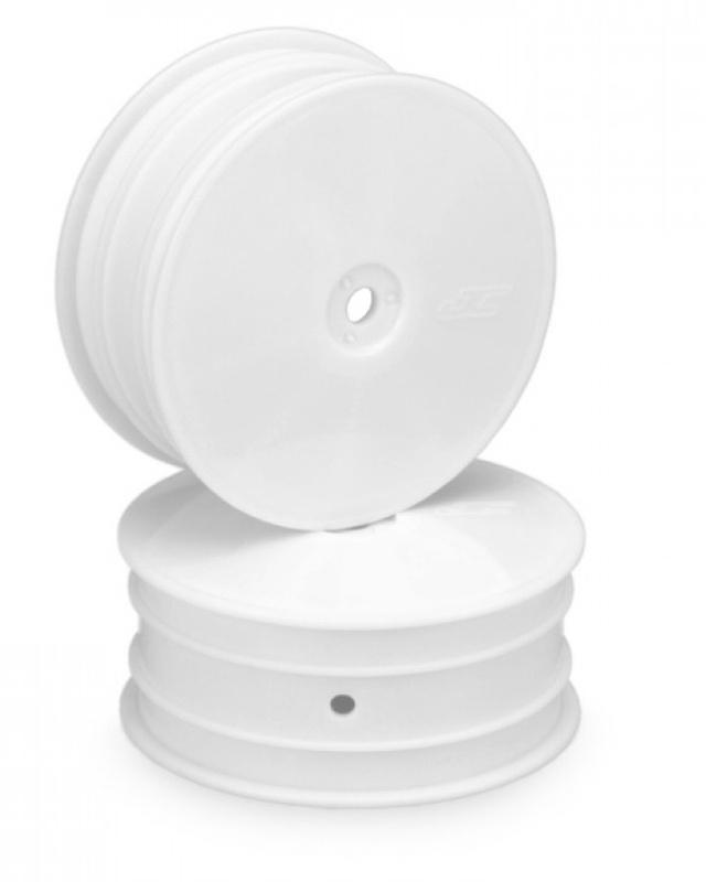 Mono 1/10 Buggy 2.2 Dish Felgen vorne 12mm für B64, B74 weiß