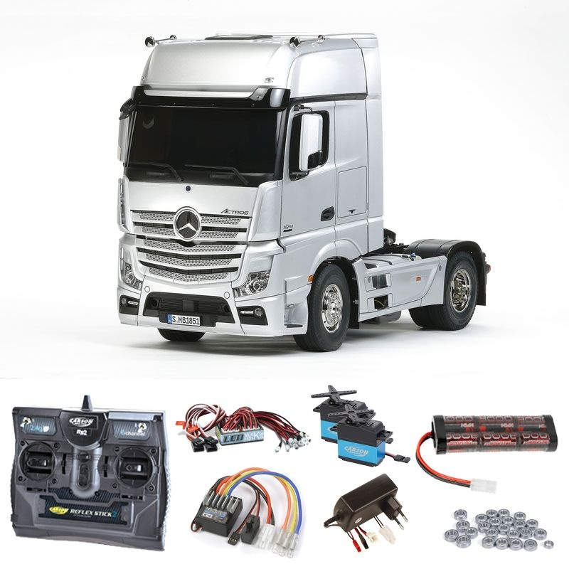 Mercedes Benz Actros 1851 complete set + LED, ball bearings