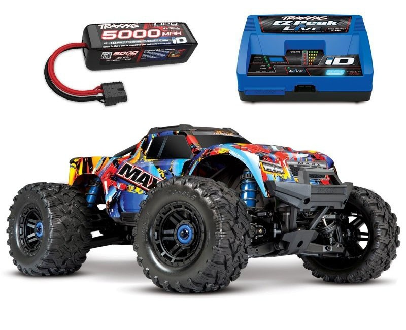 Maxx 4S 1:10 4WD Monster Truck BLTQi 90+ km/h, Rock n`Roll
