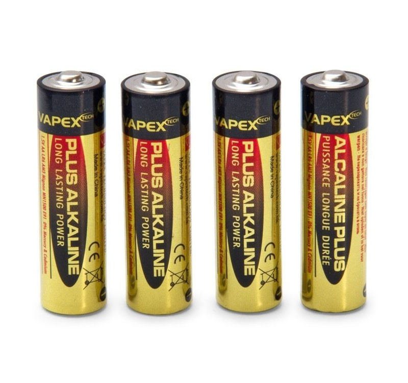 Plus Alkaline Batterien AA 1,5V, 4 Stück