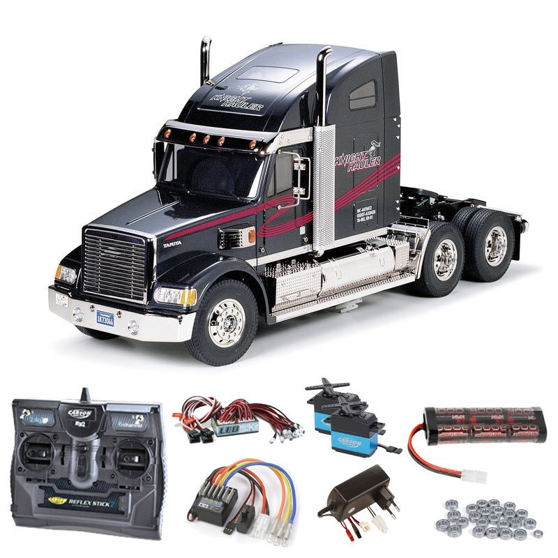 Truck Knight Hauler Komplettset + LED, Kugellager