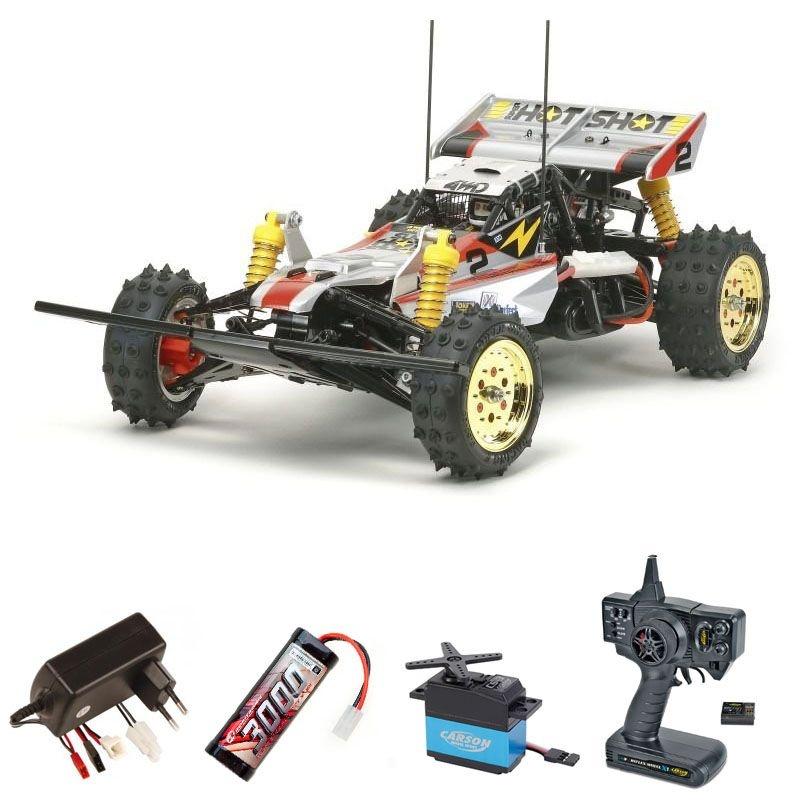 Super Hotshot 4WD Racing Buggy 1/10 WA 2,4 Ghz Komplettset