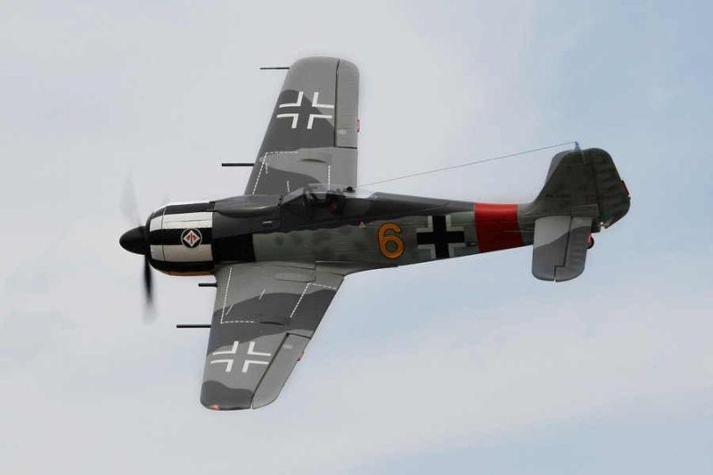 Focke Wulf FW 190 A-8 Warbird Flugmodell 1400mm PNP