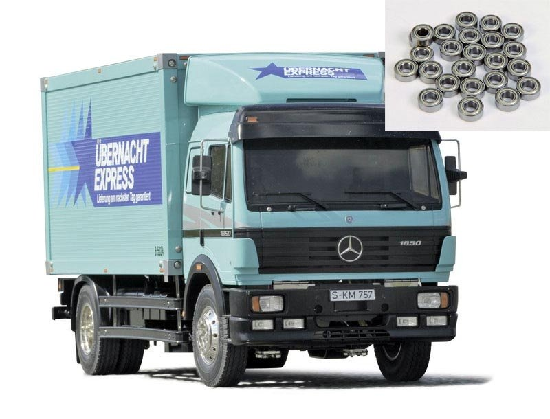 Mercedes Benz 1850L Ü-E BS 1/14 LKW Bausatz + Kugellager