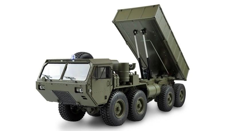 U.S. Militär Truck 8x8 Kipper 1:12 military grün