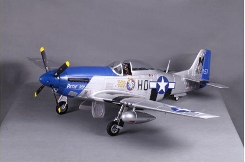 P-51D Mustang V8 Petie 2nd Flugmodell 1450mm PNP