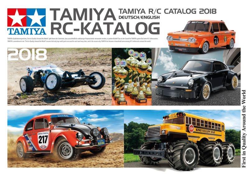 TAMIYA RC-Katalog 2018 DE/EN