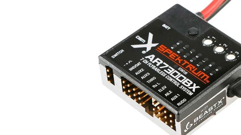 Spektrum AR7300BX 7-Kanal Switchsafe-DSMX-Empfänger mit Flyb