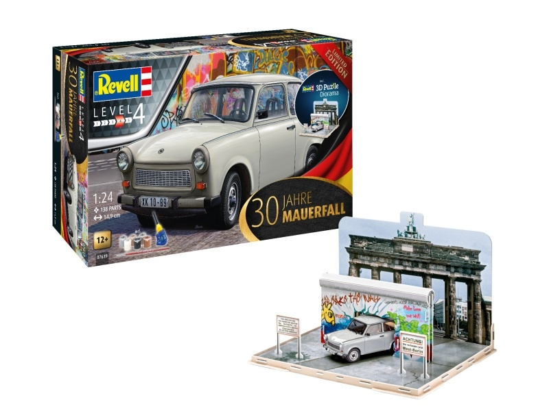 30 Jahre Mauerfall Limited Edition 1:24 Bausatz inkl. Farbe