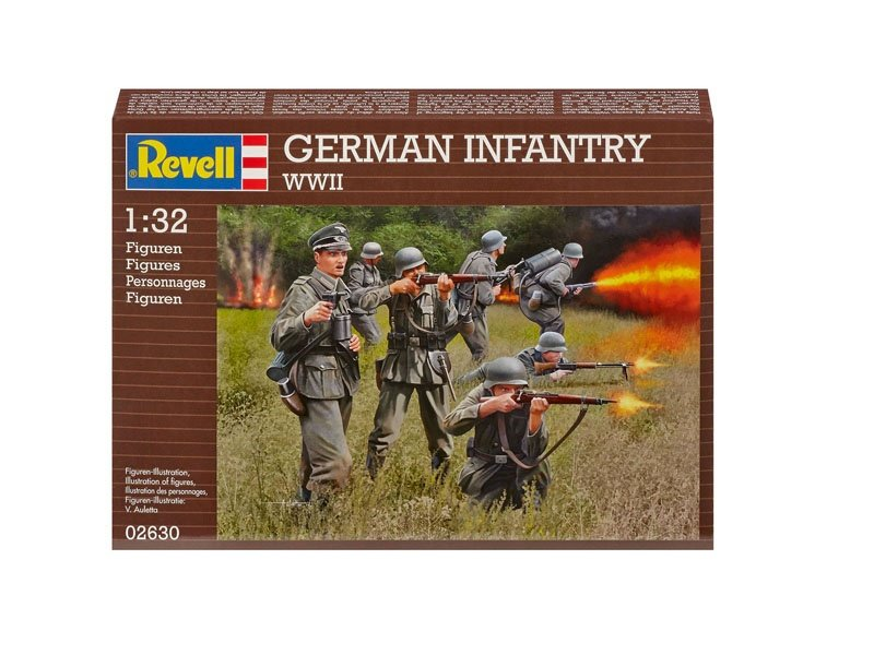 German Infantry  WWII 1:32