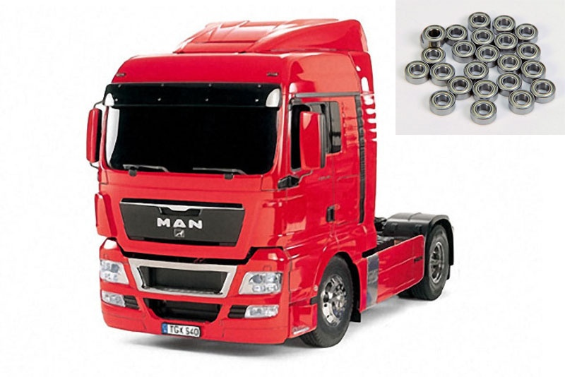 MAN TGX 18.540 4x2 XLX - Red Edition + Kugellager