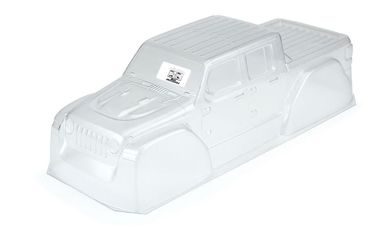 Jeep Gladiator Rubicon Karo klar für TRX Slash 2WD & 4x4