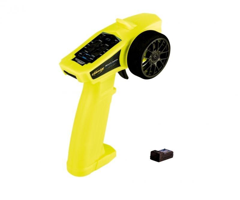 Reflex Wheel Start 2,4GHz Fernsteuerung + Empfänger neongelb