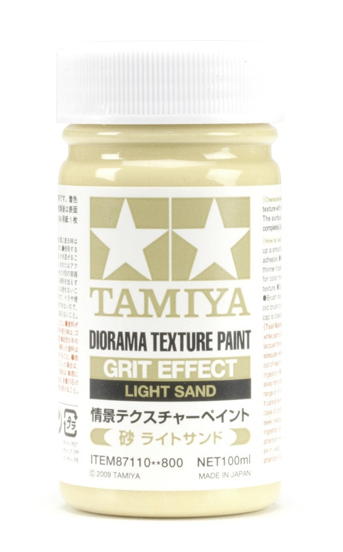 Texturfarbe Sand/Sandhell 100ml Diorama