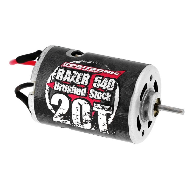 Razer 540 Motor 20 Turn Brushed Stock