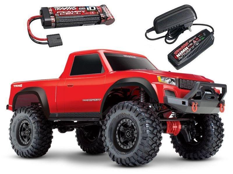 TRX-4 Sport - 1/10 Scale Crawler RTR rot + Akku + Ladegerät