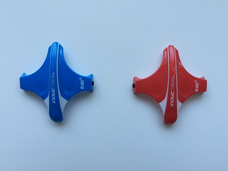 Inductrix Kabinenhaube rot und blau