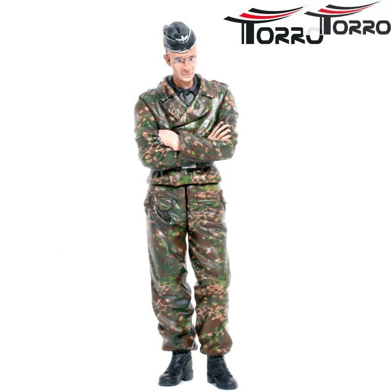 1/16 Figurenserie Figur Richtschütze einer Tiger Besatzung