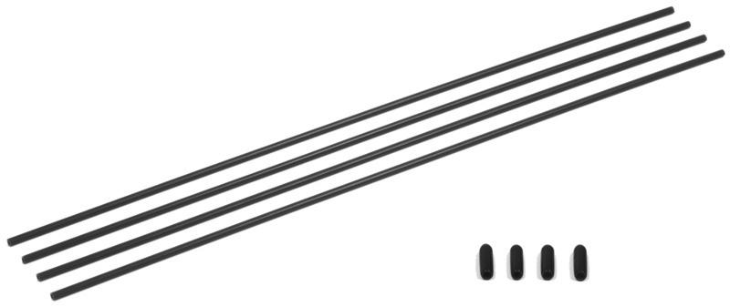 Antennen Rohre schwarz (4)