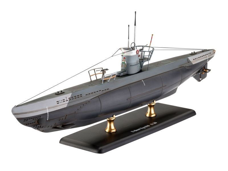 Deutsches U-Boot TYPE IIB (1943) 1:144