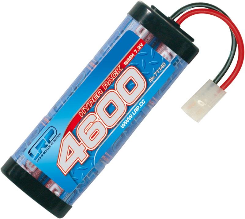 LRP Hyper Pack 4600 - 7.2V - 6-ZellenNiMH Stickpack