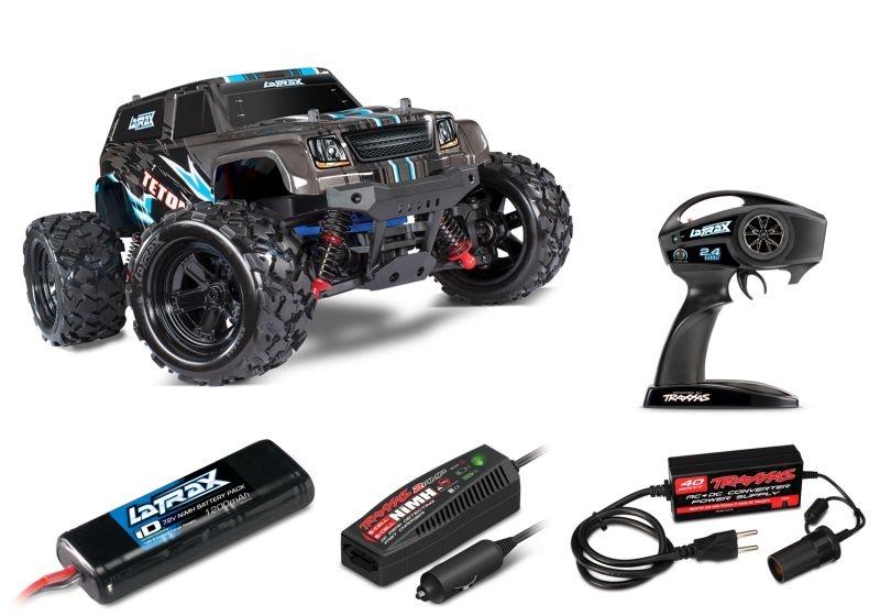 LaTrax TETON 2.4GHz waterproof 1:18 4WD + 230V-Lader, Akku