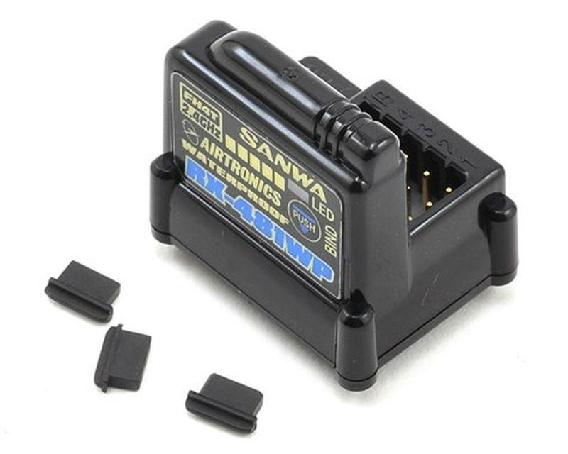 RX-481WP Empfänger 4-Kanal 2.4GHz FH4/FH3 wasserdicht