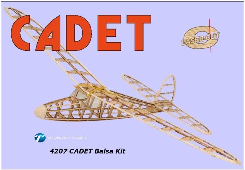 CADET Semi-Scale Segelflieger, Balsa-BaukastenSpannweite