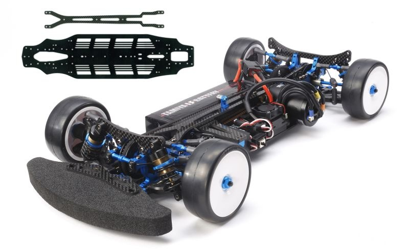 TRF419X WS 1:10 Chassis Kit mit Alu Chassis