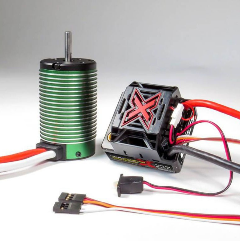 MAMBA Monster X 1/8 Brushless Combo 2200KV Motor waterproof