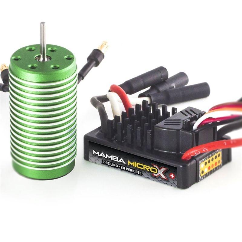 Mamba Micro X Combo 1:18 Extreme Brushless 8200kV