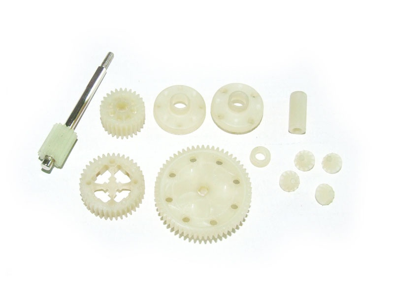 Spur Gear + Diff. Gears assembly
