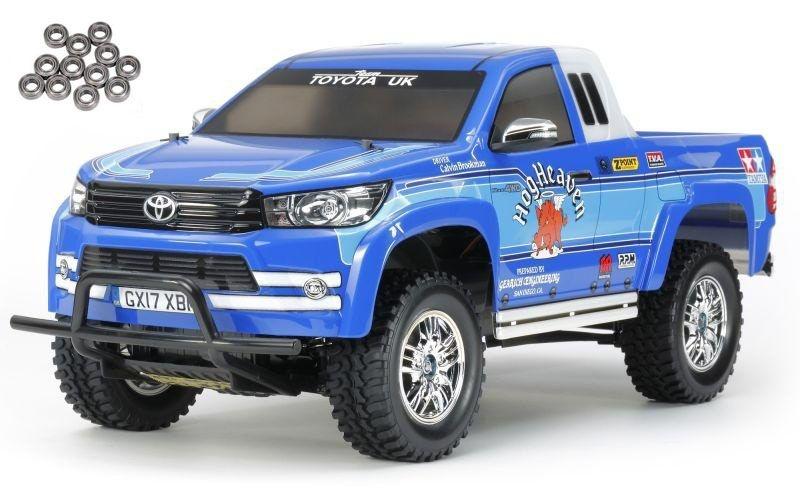 Toyota Hilux Extra Cab 1:10 CC-01 Scaler Kit + LED, Lager