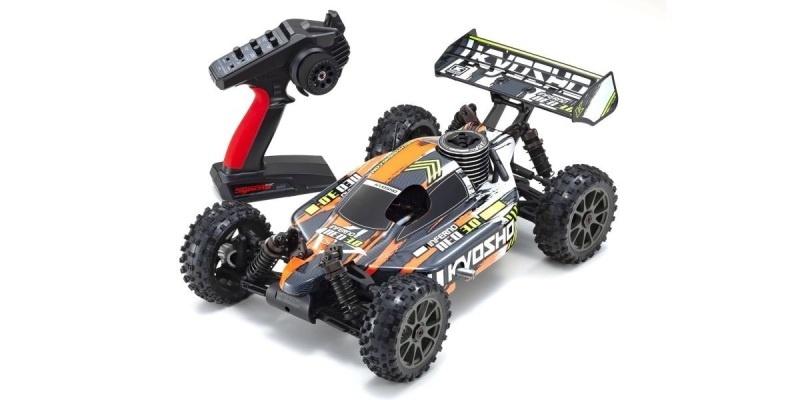 Inferno Neo 3.0 4WD Buggy Nitro 1:8 2,4GHz RTR, orange