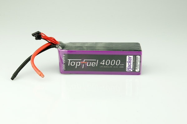 TopFuel LiPo 30C-LIGHT 4000mAh 6S