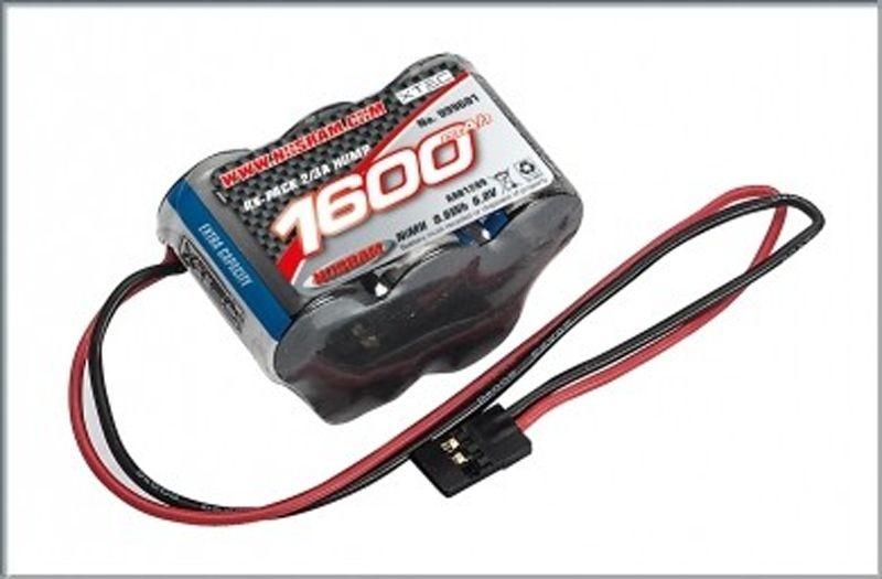 XTEC RX Hump-Pack 2/3A NiMH - JR - 6.0V - 1600mAh