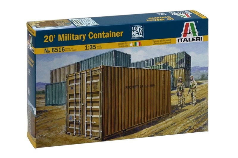 1:35 20´ Military Container