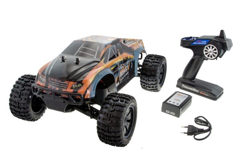 Yakubi Pro 1/10 Monster Truck 4WD Brushed 2,4GHz RTR