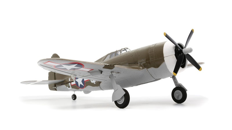 UMX P-47 Warbird Brushless AS3X BNF Basic
