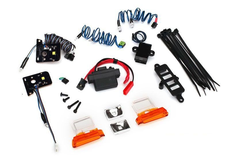LED-Beleuchtungs-Set Ford Bronco TRX-4 mit Power-Supply