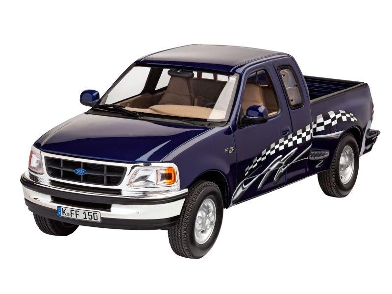 Model Set 1997 Ford F-150 XLT 1:24 Plastik Bausatz + Farbe