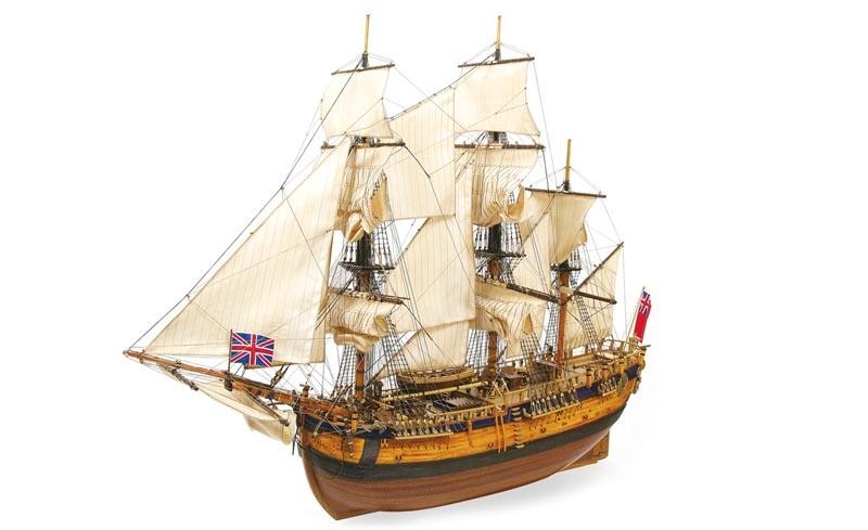 Endeavour 1:54 Schiffsbausatz