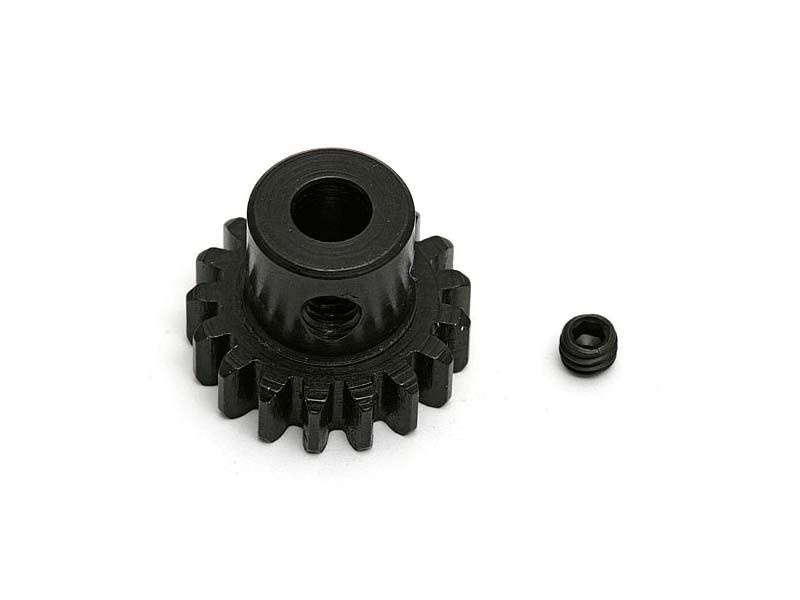 Stahl Motorritzel 15 Zähne, Modul 1, 5mm Welle