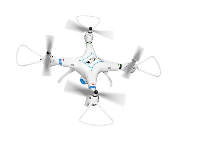 Spyrit EX 3.0 FPV Quadrocopter mit Kamera 2,4GHz RTF, weiß