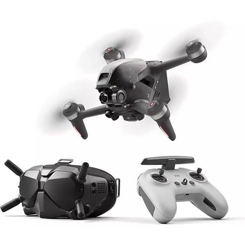 FPV Combo - FPV Drohne mit FPV Goggles V2 und Fernsteuerung