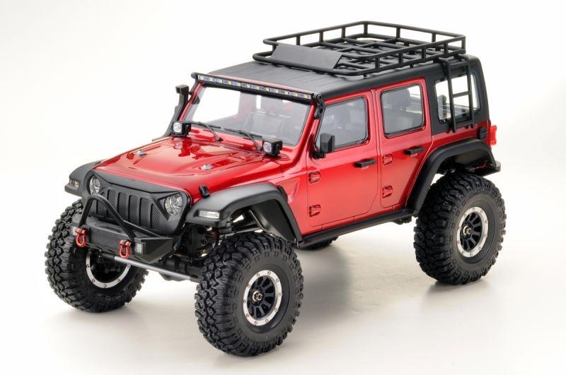 SHERPA PRO CR3.4 Crawler Metallic-Red 4WD RTR 1:10
