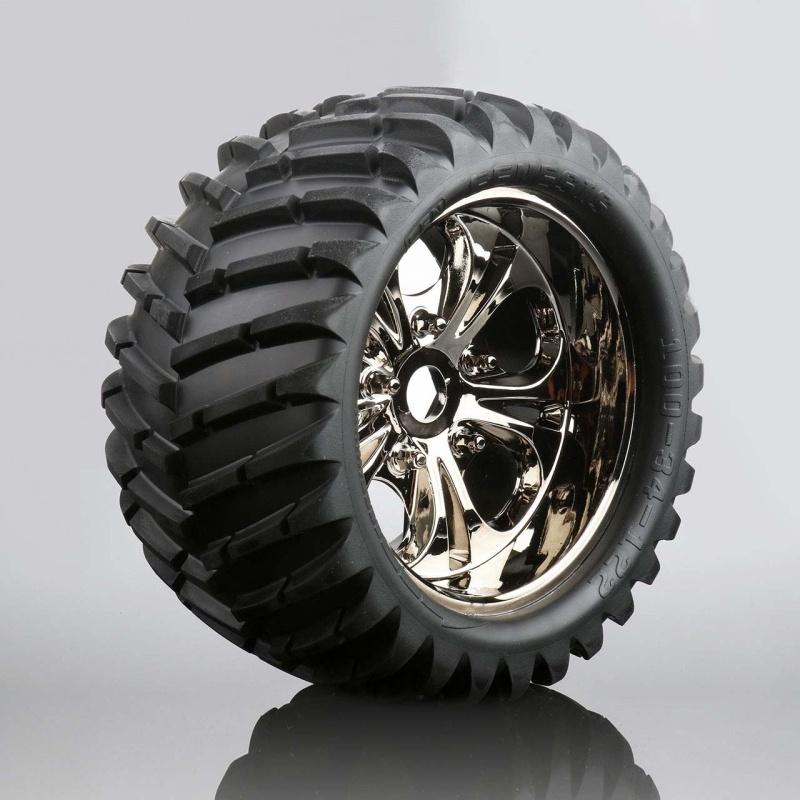 V-Profil Reifen auf Felge (fertig verklebt, 1 Paar) Reeper