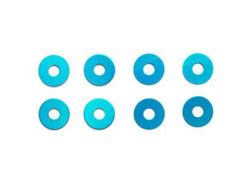 Rad Distanzscheibe blau Wheel Spacer Set